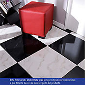 Piso Mónaco Negro 50x50 cm Caja 1.5 m2