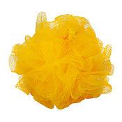 Esponja amarilla x 1 exfoliar 9 x 9 cm