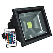 Reflector Led 30w Colores Control Remoto