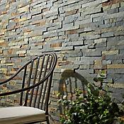 Piedra mosaico óxido 50x18x1.2-2cm cj0.9m2