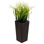 Planta artificial alta pasto 6.5 x 6.5 x 20 cm