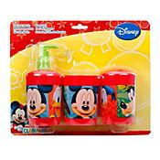 Set Baño Mickey 3 Piezas