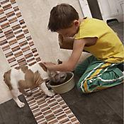 Mosaico Cerámico Piedra Francesa 32.6x29.2 cm Multicolor