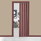 Puerta Plegable PVC Milano Ebano 90x200 cm