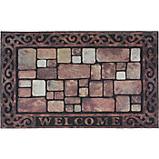 Tapete Welcome Ladrillo 45x75 cm