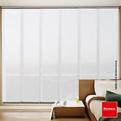 Panel Japonés Quartz 300x230 cm Blanco