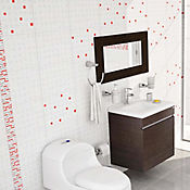 Pared Cerámica Moderna Dinamarca 25x35 cm Caja 2 m2 Roja