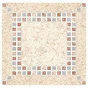 Piso Cerámico Baraquel 33.8x33.8 cm Caja 1.6 m2 Multicolor