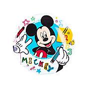 Plato Redondo Mickey Crafts