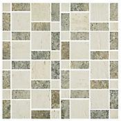 Mosaico Cerámico Travertino 30x30 cm Beige