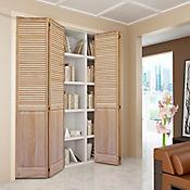 Puerta clóset 60 x 203 cm natural celo/panel