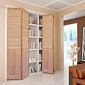 Puerta clóset 91 x 203 cm natural celo/panel
