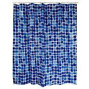 Cortina Baño Poliéster  Azulejos
