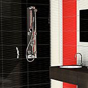 Pared Odish Rojo 32.3x56 cm Caja 1.45 m2