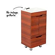 Mueble Fortaleza Amaretto 40 cm Lavamanos Floresta Blanco