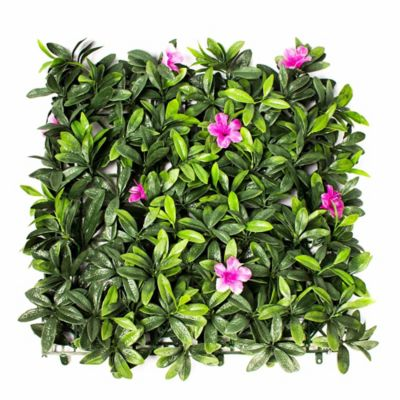 Jardin vertical artificial azalea 50x50c for Plantas decorativas artificiales bogota