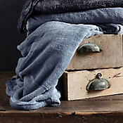 Cobija Flannel 200x220 cm Azul