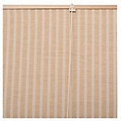 Persiana Yute Enrollable 160x165 cm Miel