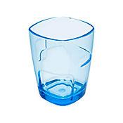 Vaso Pop de 300 cc Corto Azul Acrílico