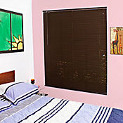 Persiana PVC 160x165 cm Chocolate