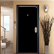 Puerta seguridad pintura electrostatica - Apertura izquierda