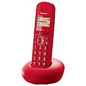 Telefono rojo inalambrico identificador