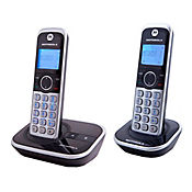 Telefono inalambrico 2 auriculares bt altavoz id