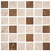 Mosaico Cerámico Nuevo Ekko 30.5x30.5 cm Multicolor