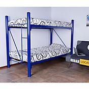 Camarote Kansas Metálico 150x115x205 cm Azul