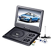 DVD Portatil LCD 9 pulg con TV/USB/SD