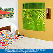 Persiana PVC 120x140 cm Vibra Verde