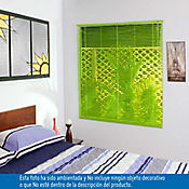 Persiana PVC 140x140 cm Vibra Verde