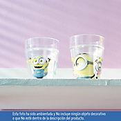 Vaso Agua Pared Minions C/U