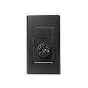 Control de Ventilador Botón Giratorio Ornatto Negro
