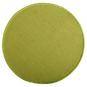 Alfombra 60 cm Redonda Verde