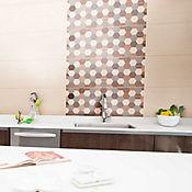 Base decorada Suecia para cocina 30 X 75 CM Beige