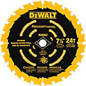 Disco Madera 7-1/4 24 Dientes Precision  Ref DW3199