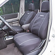 Kit Cubreasiento Negro/Gris