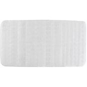 Tapete para Baño Antideslizante Massage 38x76 cm Transparente