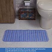 Tapete para Baño Antideslizante Massage 38x76 cm Azul