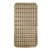 Tapete para Baño Antideslizante Massage 38x76 cm Café