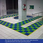 Easydeck Aqua Azul 30.48 X 30.48 cm Caja 0.84 m2