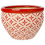 Macetero Panal Rojo 30 x 21 cm