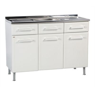 Mueble piso triple 2caj c lavap gourmet for Muebles de cocina homecenter