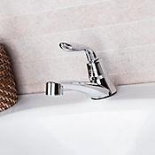 Grifería sencilla lavamanos Monza Antico