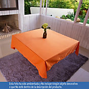 Mantel Cuadrado de 180Cm Naranja