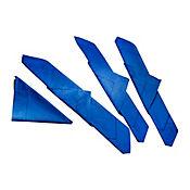 Set x 4 Servilletas de Tela Azul