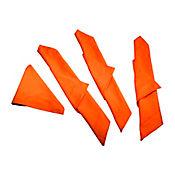 Set x 4 Servilletas en Tela Naranja