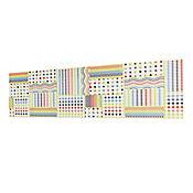 Base Cerámica Decorada para Cocina Arcoiris 5x43.2 cm Multicolor