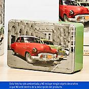 Caja Cuadrada Grande Lata Havanna